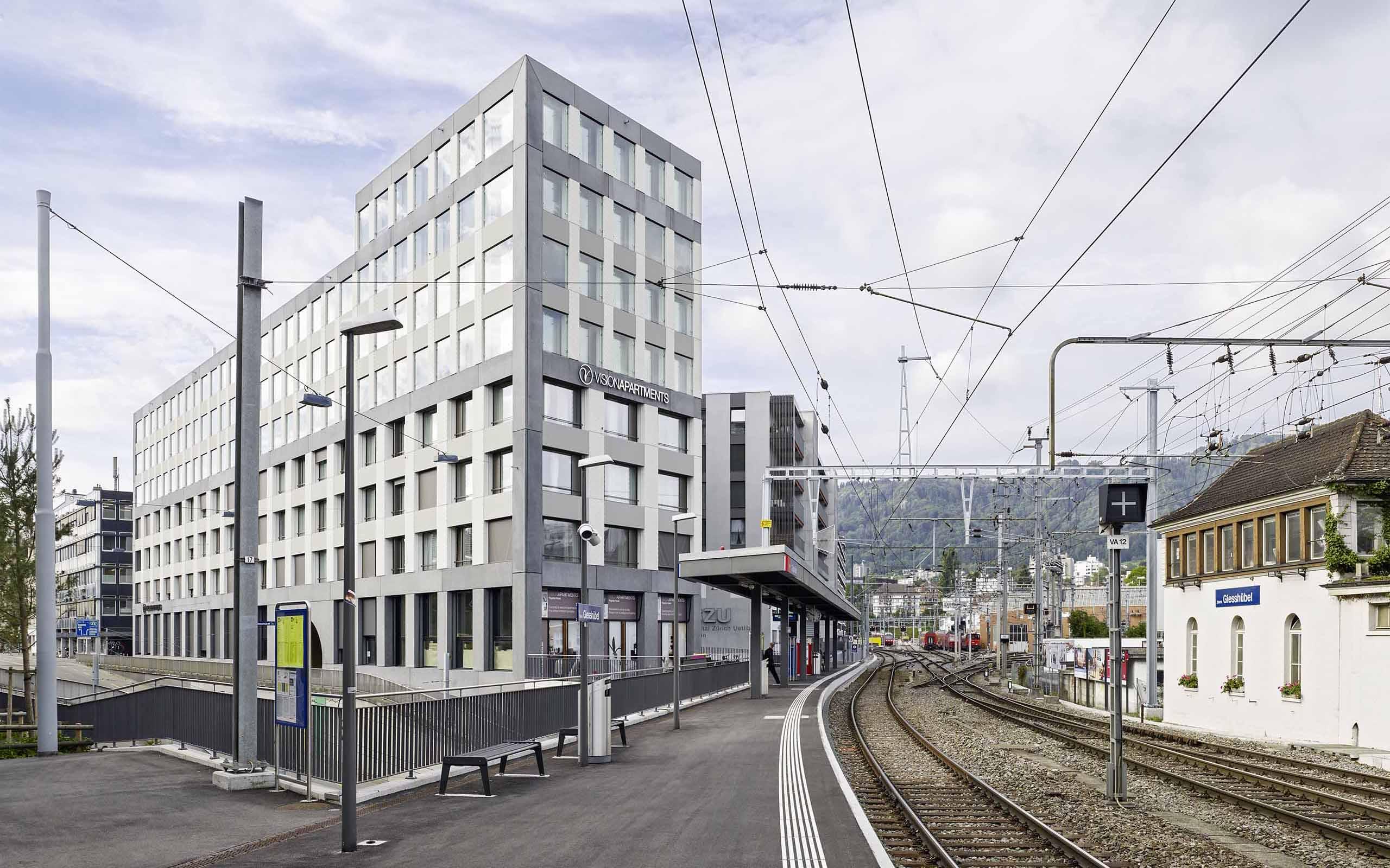 """Wohnüberbauung Wolframplatz Zürich – """"ZÜRI DRÜ BOARDINGHOUSE"""""""