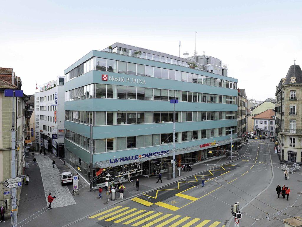 Büro- und Geschäftshaus Rue Neuve, Lausanne – Bild 1